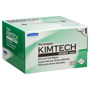 Kimtech 34120 Science Kimwipe Delicate Task Wipers 21X11cm 280 Shts
