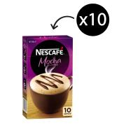 Nescafe Cafe Menu Mocha Coffee Sticks 18g Box 10