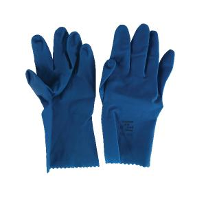 Ansell 3567 Gloves Superfood Latex Blue Unlined Size 9.5-10 Pair