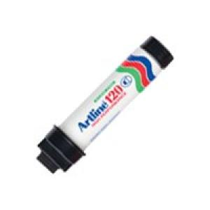 Artline 120 Permanent Marker Super Broad 20mm Black Image