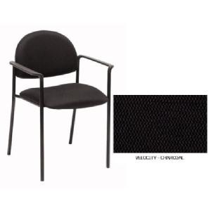 Winc 200 Visitor Chair With Arms Velocity Charcoal