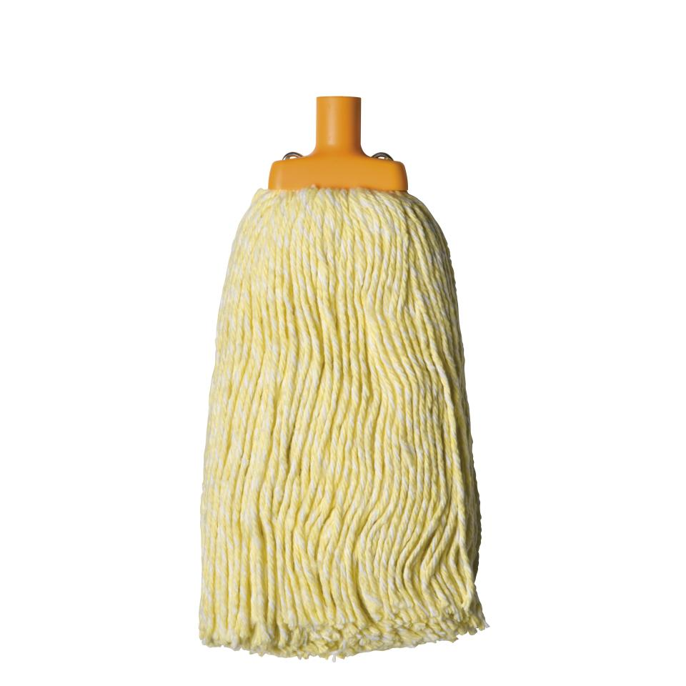 Oates Contractor Commercial Mop Head 400gm Yellow