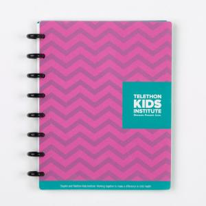 Telethon Kids Institute ARC Poly Notebook A5 Pink