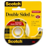 Scotch Permanent Double Sided Tape 137 12.7mm X 11.4m