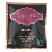 Serenitea Infusions Fairtrade Organic Earl Grey Enveloped Pyramid Tea Bags Pack 100