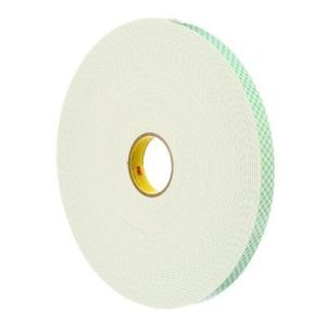 3M 4008 Double Sided Foam Tape 19mmx13.7m 1.6mm thick White