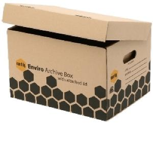 Marbig Standard Archive Box With Attached Lid