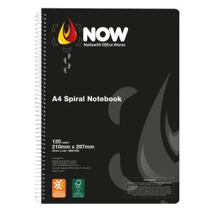 Nallawilli Office Wares Spiral Notebook A4 120 Page