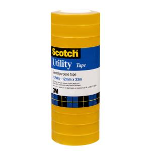 Scotch General Purpose Utility Tape 12mm X 33m