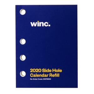 Winc 2020 Calendar Side Hole Refill 102 x 76mm