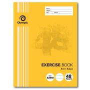 Olympic E2848 Exercise Book 225 x 175mm 8mm 48 Pages