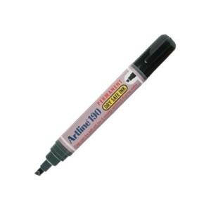 Artline 190 Permanent Marker Drysafe Chisel Black