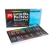 Micador Oil Pastels Large Pack 48