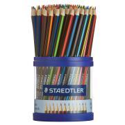 Staedtler Noris Club WOPEX Coloured Pencils Cup Pack 108