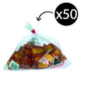 Kevron 37746 Key Tags ID5 Orange Pack 50