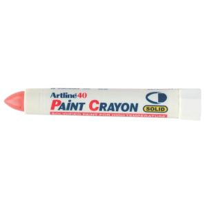Artline 40 Paint Crayon Industrial Marker Red