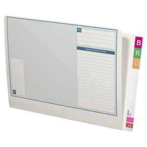 Avery Lateral Note File 355 x 235mm 35mm Expansion White Pack 100