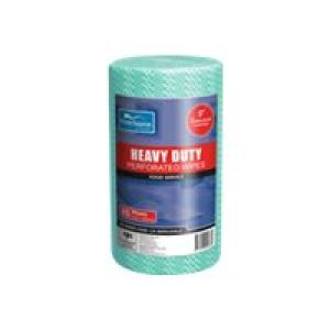 Prime Source Heavy Duty Wipes 30X45cm Green Roll 85 Image