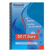 Kluwell Do It Diary A5 152 Pages