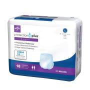 Protection Plus Super Protective Underwear Large Carton 72