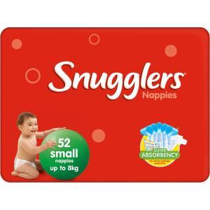 Snugglers Nappy Small Carton Of 208