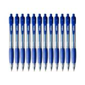 Winc Retractable Ballpoint Pen Medium 1.0mm Blue Box 12