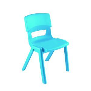 Sebel Postura Max 3 Classroom Chair 350mm Aqua