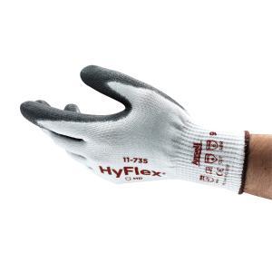 Hyflex 11-735 Cut 5 Resistant Gloves Pu Palm Pair