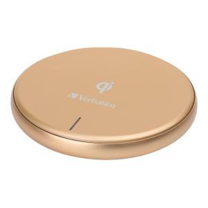 Verbatim 10w Qi Metallic Wireless Charger Gold