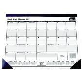Sasco 2021 Monthly Desk Planner 430 x 555mm