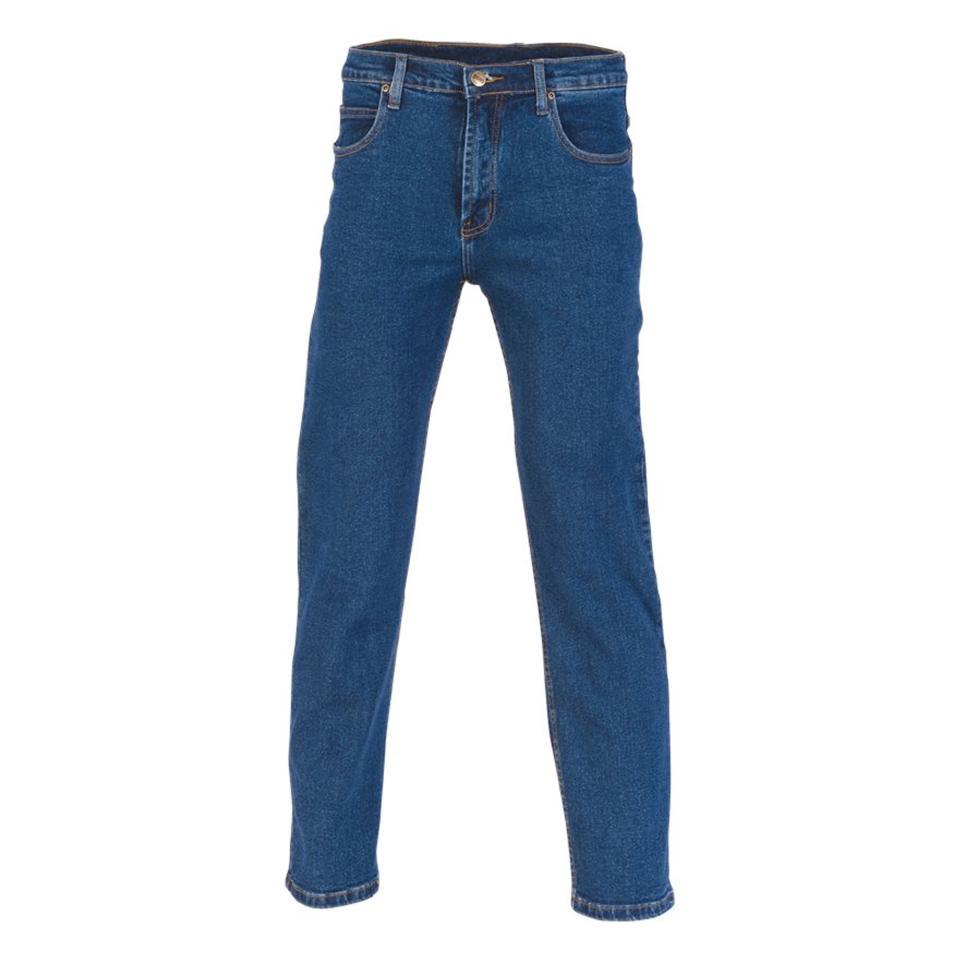 Dnc 3318 Denim Stretch Jeans Blue Size 87R Each