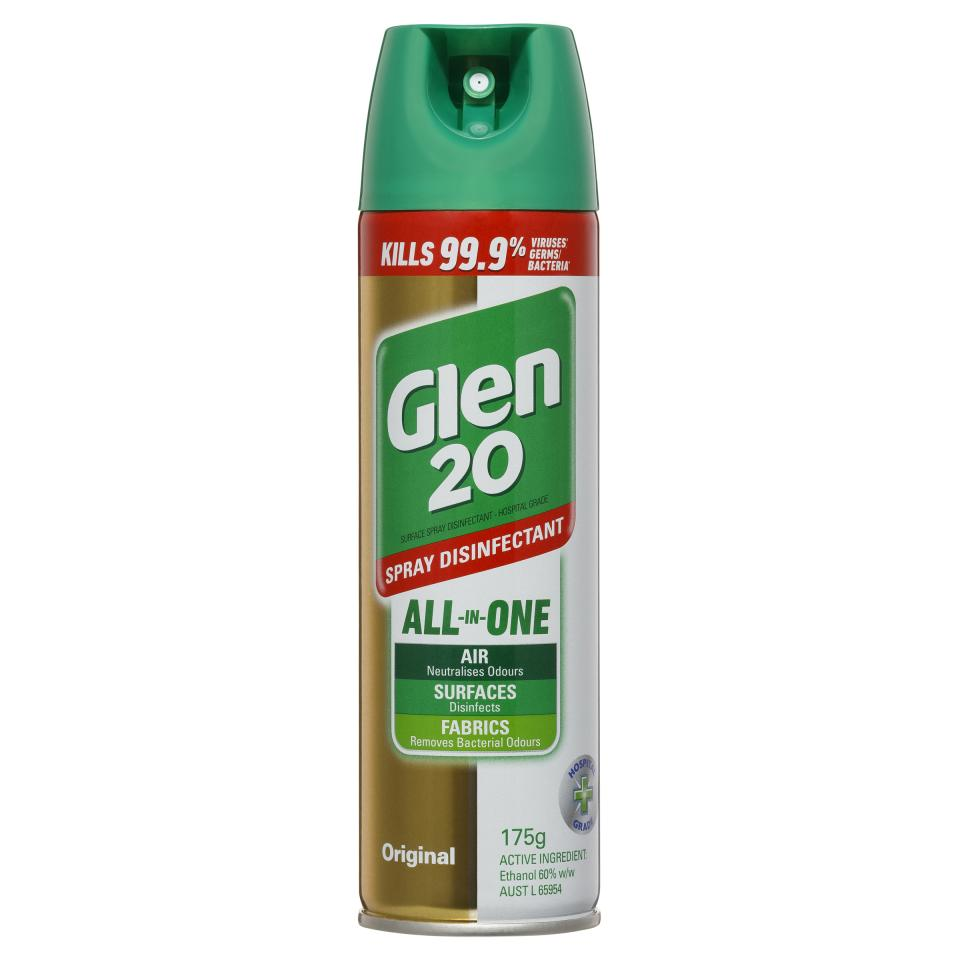 Glen 20 Disinfectant Spray Original Scent 175g