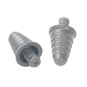 3m Skull Screws Grey Uncorded Earplugs 27Db 120 Pair