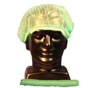 Safechoice Disposable Hairnet Crimped Green Carton 1000
