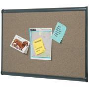 Quartet Prestige Cork Board 1200 x 900mm Graphite Frame