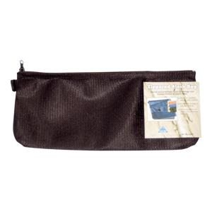 Colby Nylon Mesh Zippered Pencil Case Black