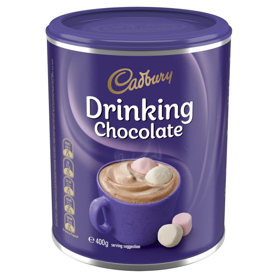 Cadbury Drinking Chocolate 400g Tin
