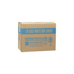Austar Bin Liners Kitchen Tidy 930X620mm 65 Litre Packet 50 Carton 500