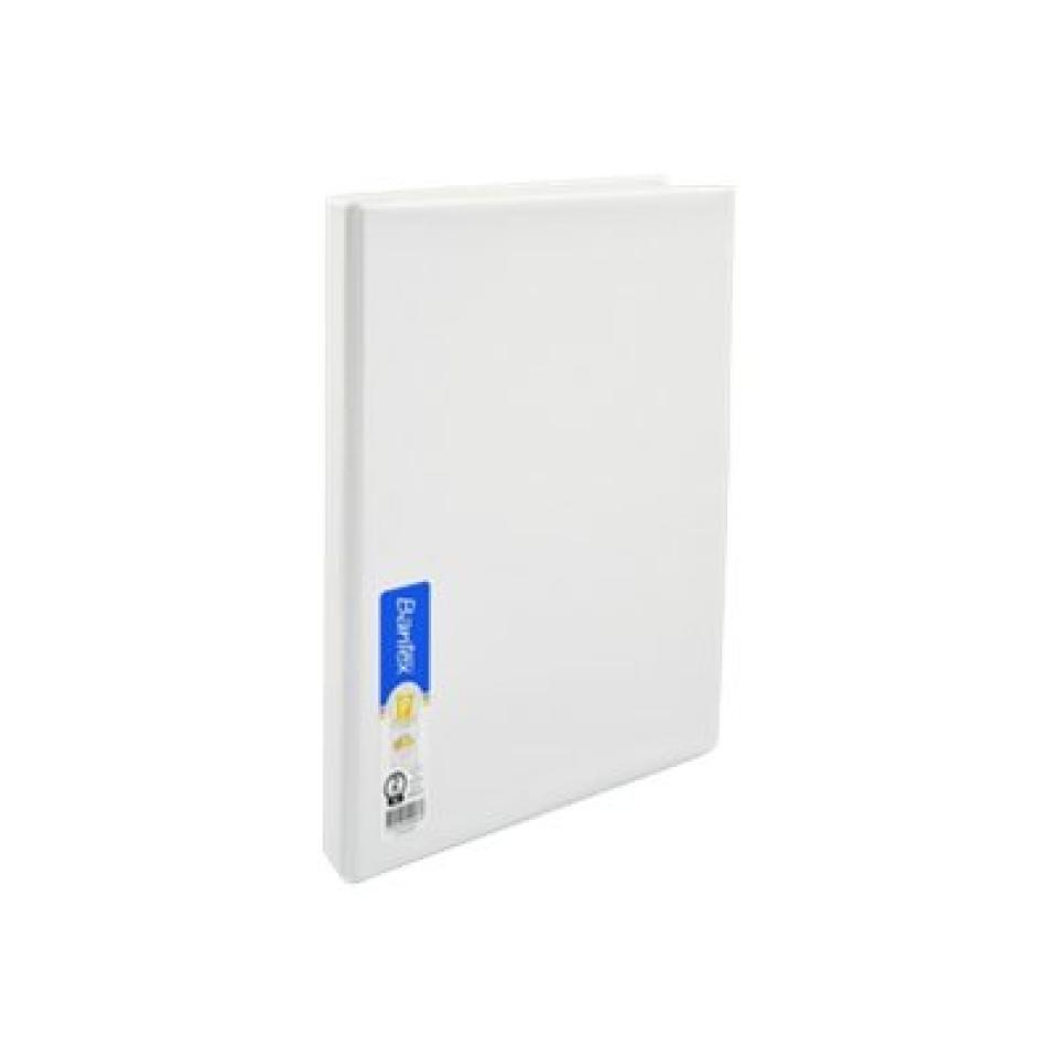 Bantex Insert A4 Binder 2D Ring Capacity 16mm White