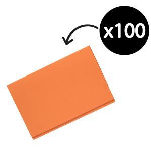 Olympic Manilla Folder Foolscap Orange Box 100