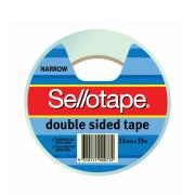 Sellotape 404 Double Sided Tape 12mm X 33m Roll