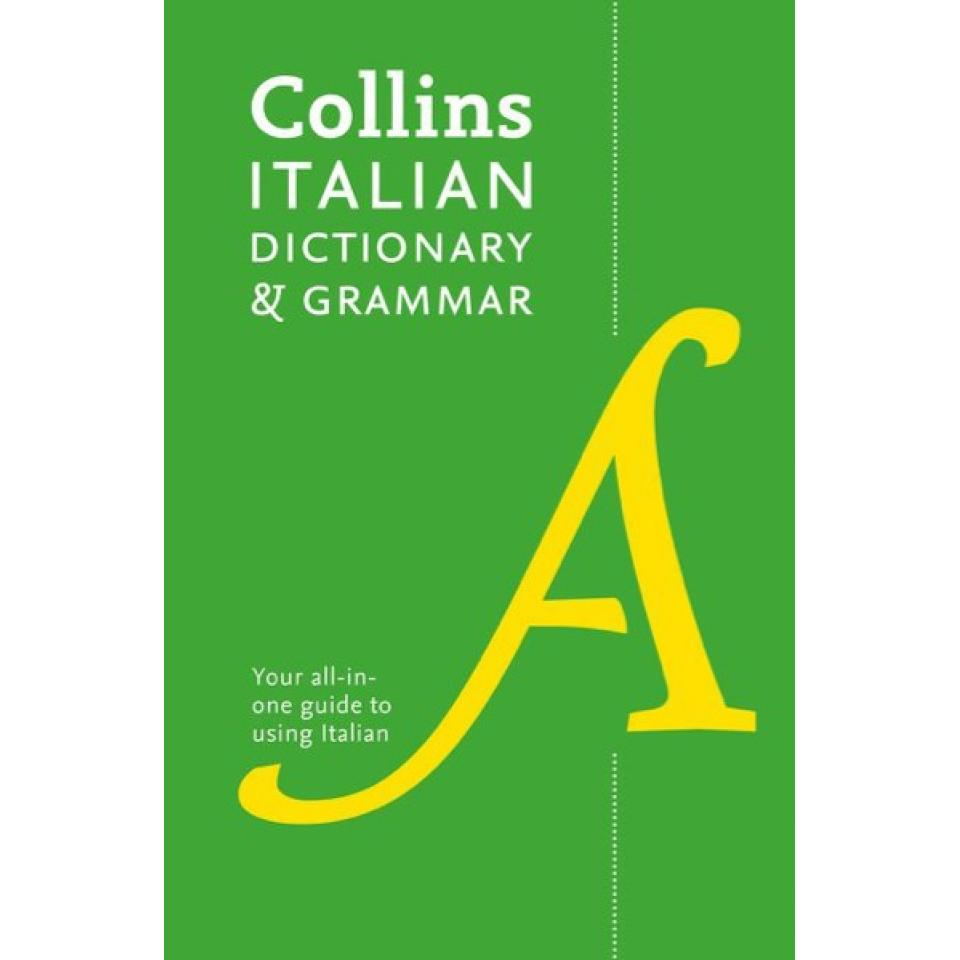 Collins Italian Dictionary And Grammar 120000 Translations Plus Grammar Tips