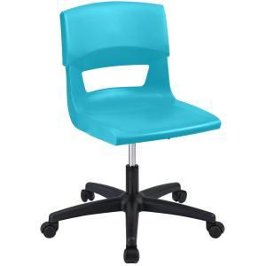 Sebel Postura Plus Gaslift Classroom Chair Aqua