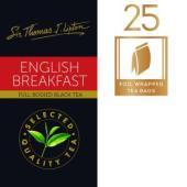 Sir Thomas Lipton English Breakfast Tea Bags Pack 25
