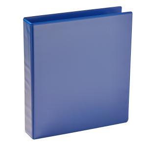 winc earth insert binder a4 2 d ring 38mm blue winc