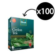 Dilmah Black Tea Bags Pack 100