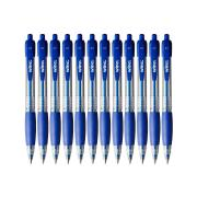 Winc Retractable Ballpoint Pen Fine 0.7mm Blue Box 12