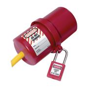 Masterlock Lockout Cover Elect Plug Large 0488