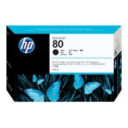 HP 80 Black Ink Cartridge - C4871A