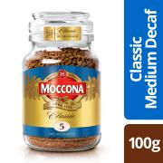 Moccona Classic Decaffeinated Instant Coffee 100g Jar